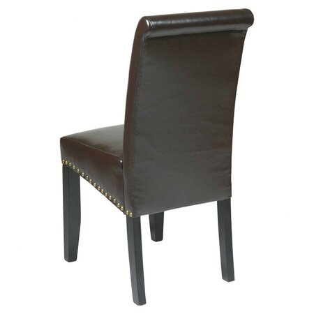 Suzanne Dining Chair in Espresso