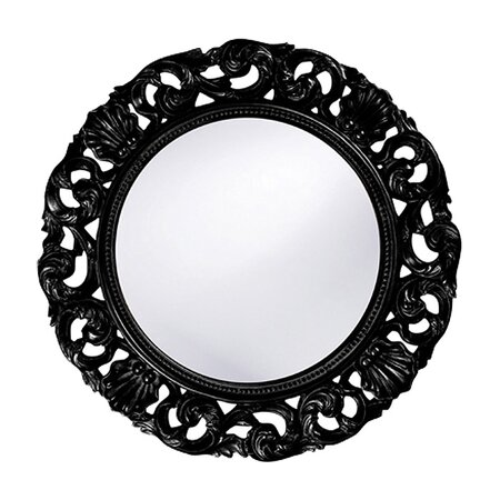Glendale Wall Mirror in Black
