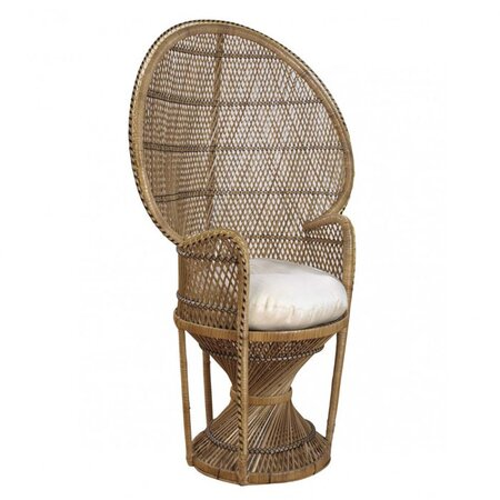 Peacock Buri Chair