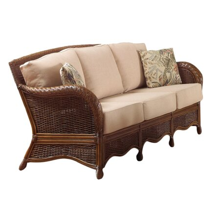 Patio sofas joss and main for Indoor outdoor sectional sofa