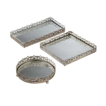 3 Piece Kaye Vanity Tray Set
