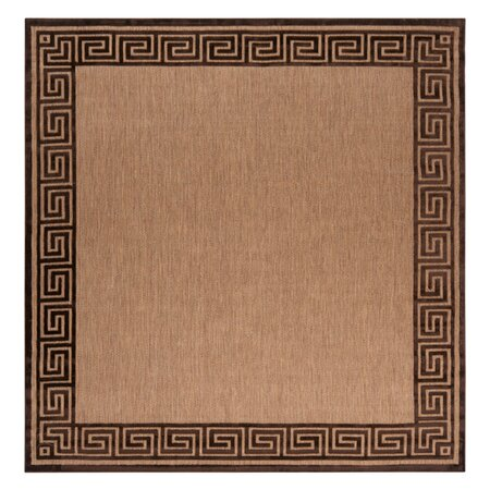 Portera Indoor/Outdoor Rug in Espresso