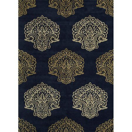 Persephone Regal Rug in Navy