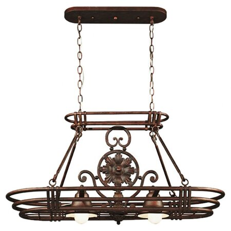 Giovanni Pot Rack Pendant in Bronze