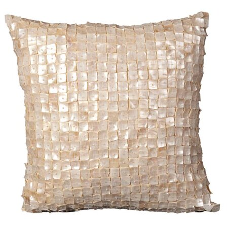 Large Ava Pillow in Ivory