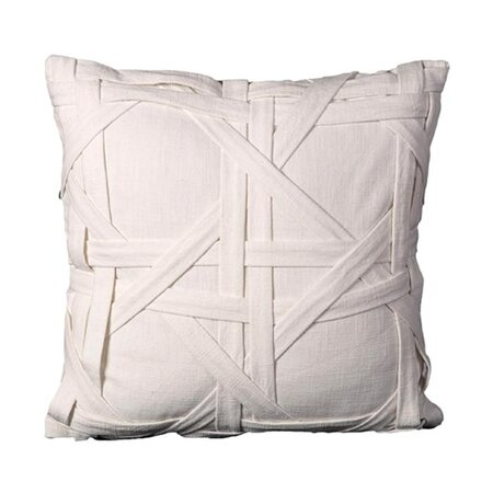 Grable Pillow in Ivory