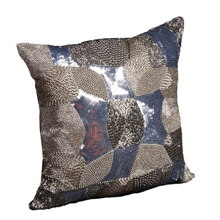 Harlow Pillow in Silver