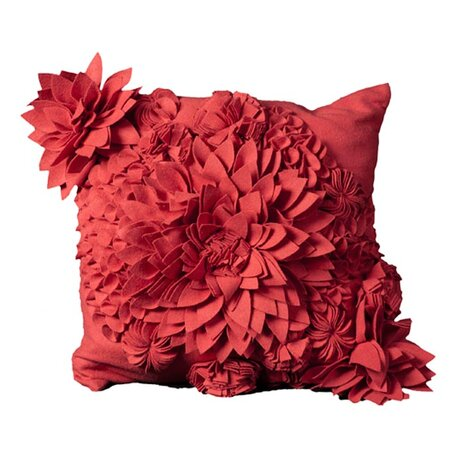 Bacall Pillow in Coral