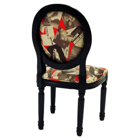 Armen Living Michael Side Chair