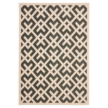 Chrysler Indoor/Outdoor Rug in Black
