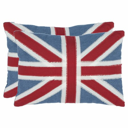 Union Jack Pillow (Set of 2)