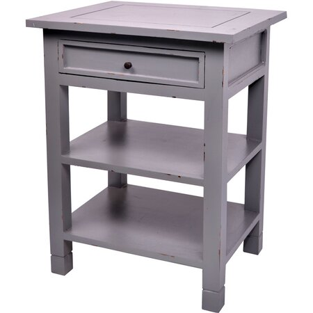 Newton Side Table in Dark Gray