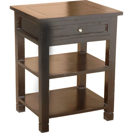 Newton Side Table in Black