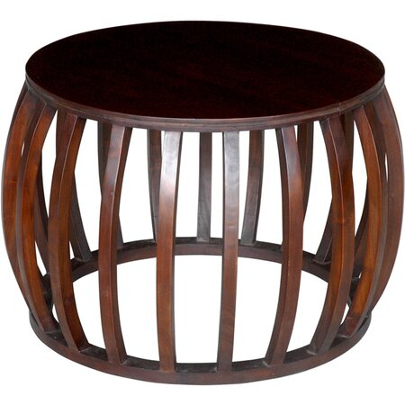 Carly Accent Table in Espresso