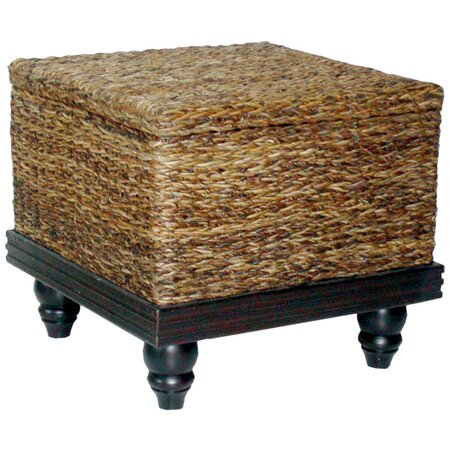 Tropical Storage Side Table