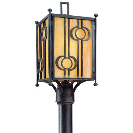 Aberdeen Outdoor Post Mount Lantern