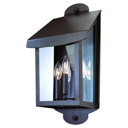 Alpine 3-Light Outdoor Wall Mount