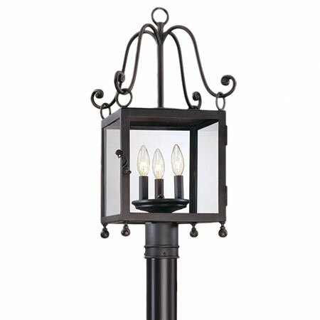 Mill Valley Outdoor Post Mount Lantern