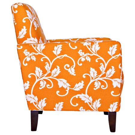 Sutton Vine Arm Chair in Pumpkin