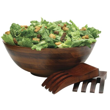 3 Piece Romulus Salad Bowl & Servers Set