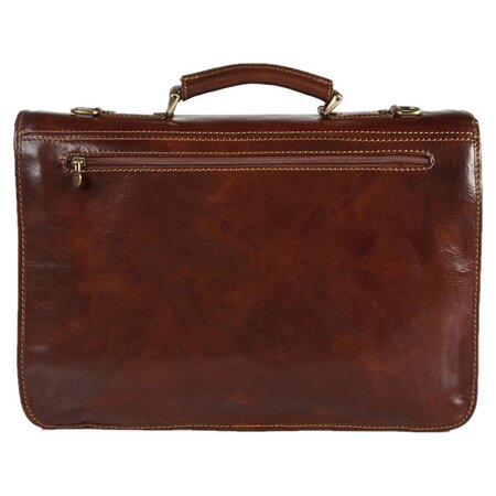 Florence Leather Messenger Bag