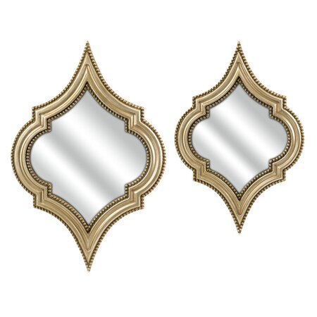 2 Piece Marietta Wall Mirror Set
