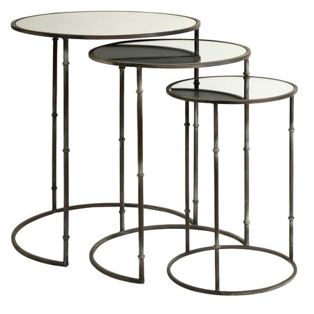 3 Piece Flouressa Nesting Table Set