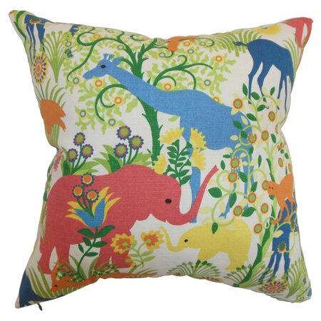 Menagerie Pillow in Multi