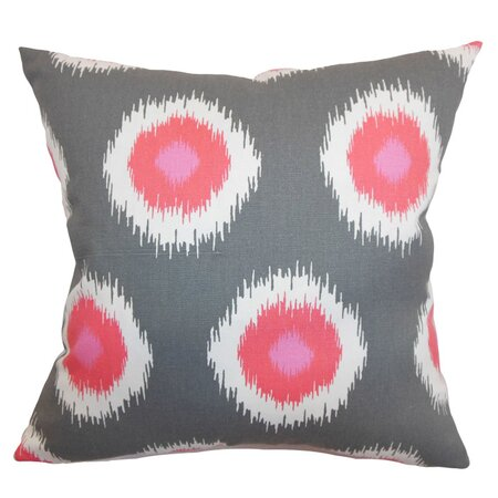 Flamingo Ikat Pillow