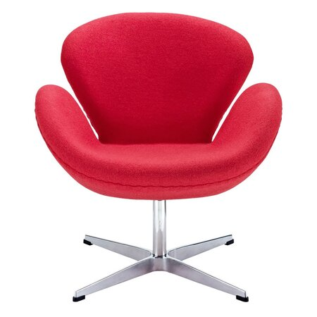 Ange Accent Chair in Red