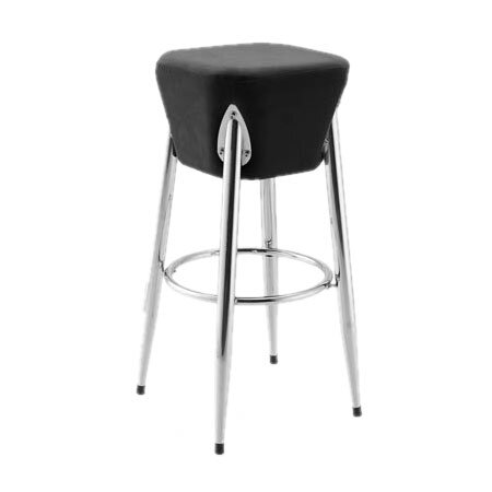 Rocket Bar Stool in Black