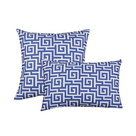 2 Piece Oskar Terrance Pillow Set in Sea