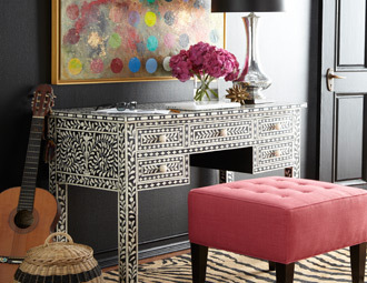 Dazzling Details - Perfectly Adorned Accent Furniture