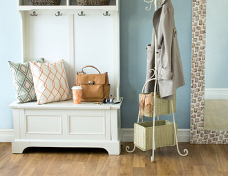 Entryway Storage Rack Bench | Decoration Share