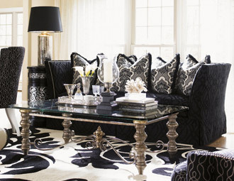 Hollywood Glamour - Silver Screen-Style Furniture & Accents