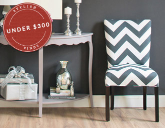 Accent Furniture Under $300 - Posh & Patterned Designs