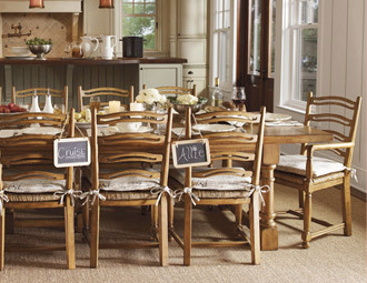 Winter in the Country - Entertain with Arcadian-Chic Furniture