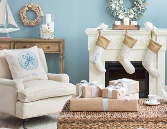 Christmas on the Coast - Elegant Decor with Nautical Charm
